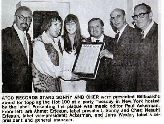 282 6 Sonny  Cher Atlantic party