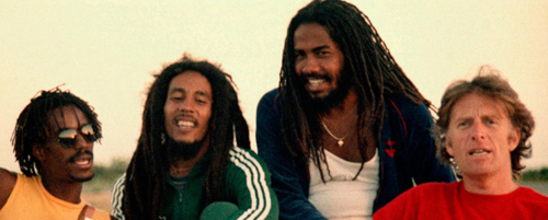 346 4 Chris Blackwell met de Wailers