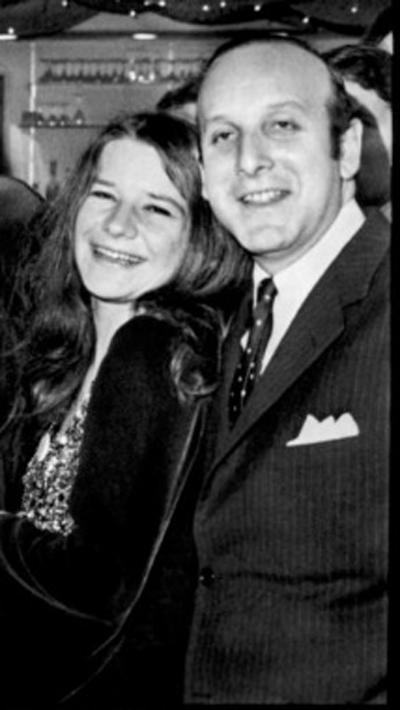 365 1 Janis Joplin en Clive Davis