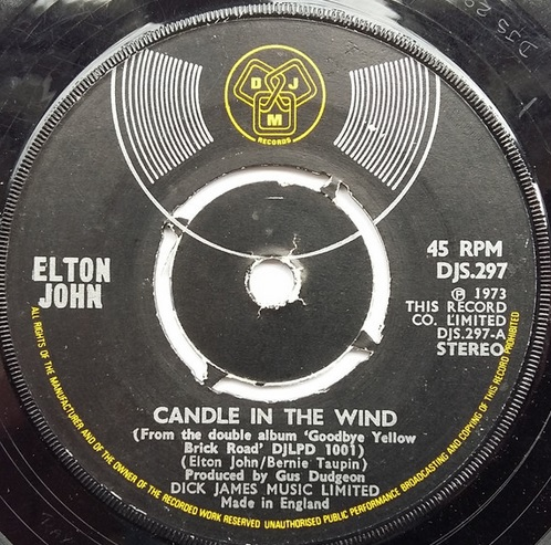 367 8 Candle in the wind 1973