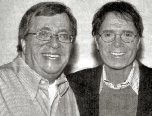 256 1 Harry de Louw en Cliff Richard