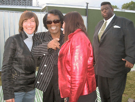 102 - James Brown fans bodyguard