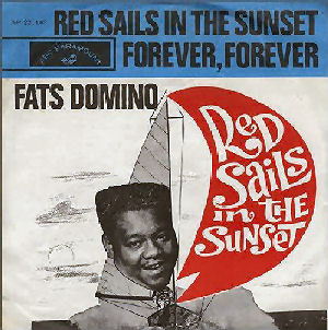 111 - 1 Domino Red sails in the sunset