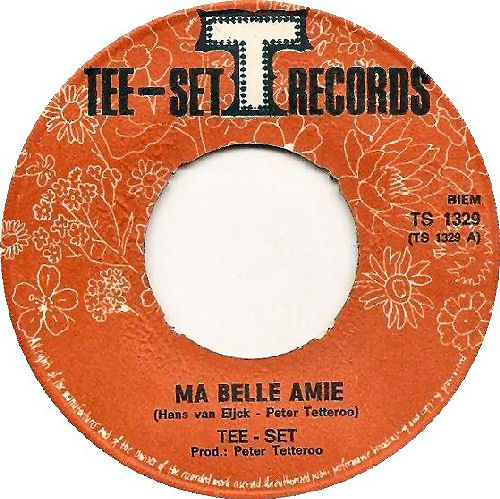122 - 7 Ma belle amie 1969 label