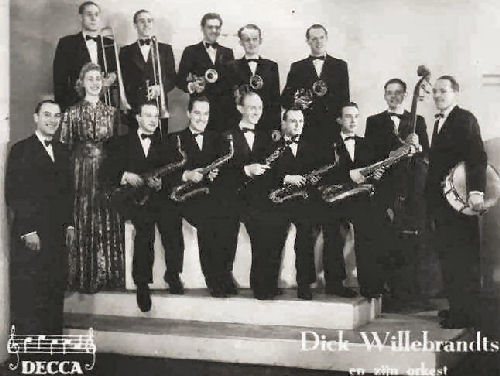 135 - 4 Dick Willebrandts, orkest