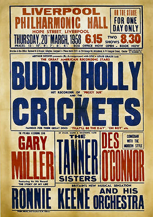 305 2 Buddy Holly in Liverpool 20 maart 1958