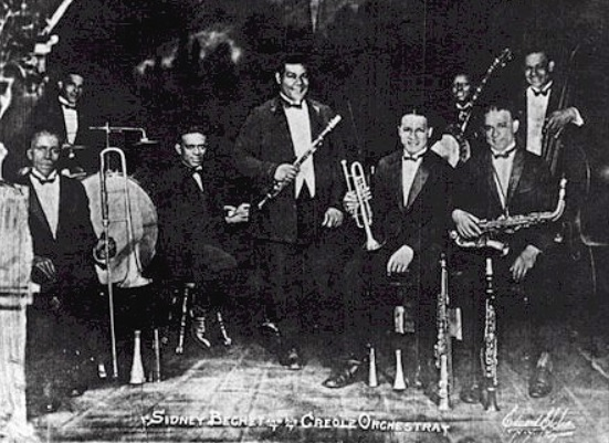 392 4 Sidney Bechet and his creole orchestra