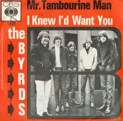 029-5 Byrds - Mr Tambourine Man pic sleeve