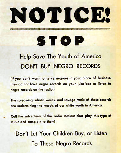 033-1a Negro records, advertentie