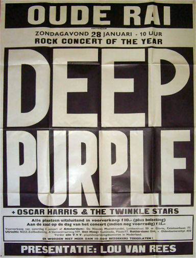 88 - Deep Purple 1973 poster