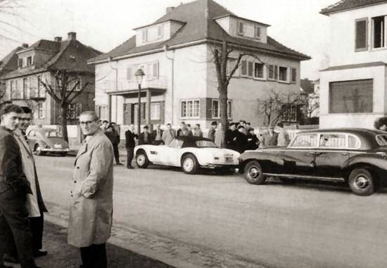 130 - 6 Goethestrasse 14 Bad Nauheim in 1959